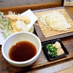 明水亭 - 季節の天ぷらざる