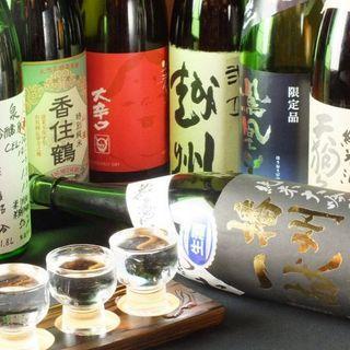 新鮮素材をより活かす地酒