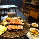 レストランひぐらし - 焼き鳥膳 1550円