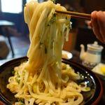 レストランひぐらし - 滝うどん(大盛り) 1100円