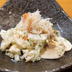 AU GAMIN DE TOKIO - ズワイガニと生マッシュルーム、生カリフラワーの冷菜