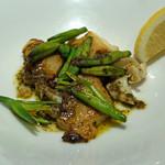 AU GAMIN DE TOKIO - エゾアワビとツブ貝のソテー 焦がしバターソース