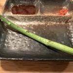 炭火串文化 あぶりや - アスパラ 1串150yen