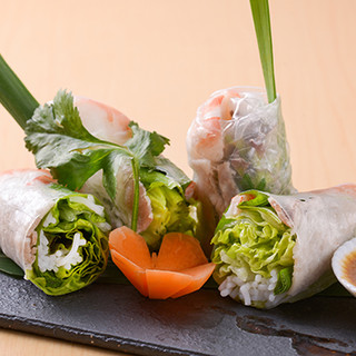 本場のシェフが腕を振るうベトナムの美食。メニュー数豊富です◎