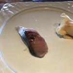 鮨 屋台 - 〆鯖!