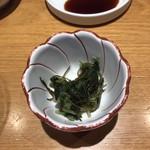 鮨 屋台 - 高菜と糸昆布!