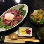 膳 - ローストビーフ丼  150グラム