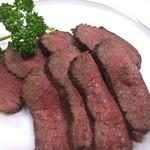 川魚炉端焼き 料理旅館  清竜 - 料理写真:鹿ロース肉のロースト