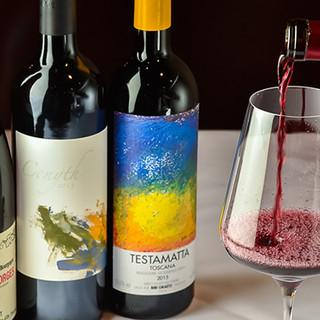 ソムリエ在中◆国産ウイスキーからレアワインまで多彩な品揃え