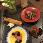 日本酒と和薬膳 ソラマメ食堂 - 前菜プレート