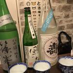 日本酒と和薬膳 ソラマメ食堂 - 飲み放題の日本酒