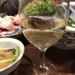 ソラマメ食堂 - 飲み放題のワイン