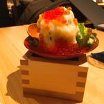 ベジ串 創作おでん ぬる燗佐藤 - ポテトサラダ