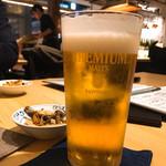 ベジ串 創作おでん ぬる燗佐藤 - ビール