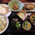 らんぷはうす - 焼き魚定食 ¥600