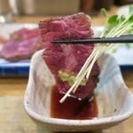 味処 陣屋 - 牛ハラミタタキ 580円