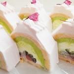 シュマーレ - 料理写真:桜のトリコロール