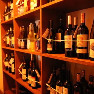 自然派ワインをはじめドリンクも豊富です♪