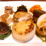 Restaurant 日水土 - 野菜と魚のランチ この日の魚はメカジキ