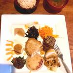 Restaurant 日水土 - 野菜と魚のランチ