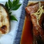 湊 原忠 - よせ波定食&さざ波定食 《焼魚/真鯛塩焼き》 《煮魚/真鯛煮付け》