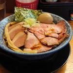 102779665 - 「特製パスター麺(1.5玉300g)」+「味玉」