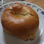 福ベーグル - オレンジクリームチーズ