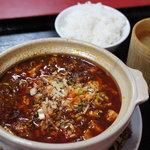 福泰楼 - 料理写真:四川麻婆豆腐+ライス単品