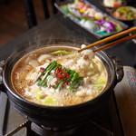 創作居酒屋 くつろぎ - スタミナ満点もつ鍋