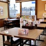 サガミ - テーブル席
