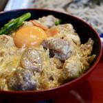 サガミ - 贅沢名古屋コーチン丼