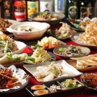 本場の中華食べ放題コースで、思う存分お腹をみたしてください!