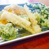 天ぷら食堂 満天 - 料理写真:春の山菜定食