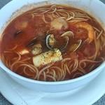 102787561 - トマトスープ〜スパ!