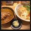 ふたば製麺 - 料理写真:牛肉カレー丼セット 680円