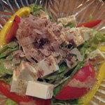 10279832 - 豆腐サラダ(ハーフ)