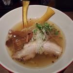 つけめん・らーめん 海老鶏麺蔵 - 鶏塩ラーメン750円