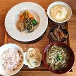 しずく。 - 料理写真:米が甘い♡食べ応えばっちしなボリューム。2019.2ランチ