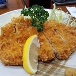 とんかつ元 - 料理写真:とんかつ(上)¥1,200