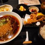 ちょびぞう - 蕎麦から揚げセット918円
