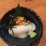 炭火居酒屋 炎 - イカ納豆
