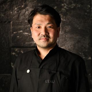 「L'EAU」Chef清水崇充