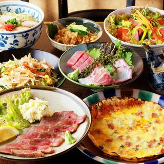 新鮮魚介を使った料理~フレッシュなサラダまで!おすすめ多数◎