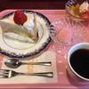 プランタン - 料理写真:レアチーズケーキセット