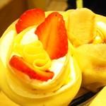 ツインズクレープ - バナナキャラメル生クリーム