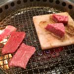 トラヤ - 宮崎牛焼肉ランチ3種 シャトーブリアン