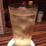 ワイン食堂 イタダキヤ - 強炭酸ハイボール