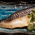 かこい - 鯖の味噌漬け焼きです