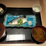 かこい - 鯖の味噌漬け焼き全景