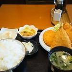 ごはん処 のぐっち - 料理写真:ミックスフライ定食